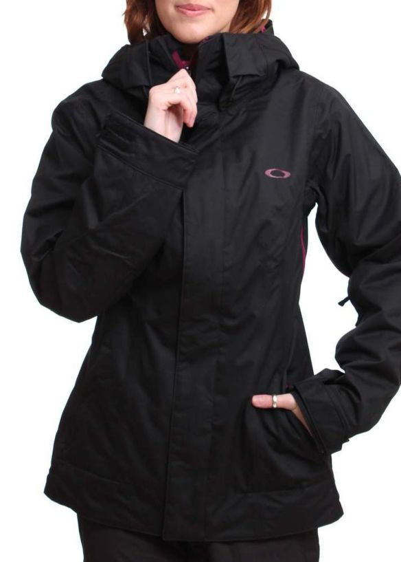 OAKLEY FIT SNOW JACKET Jet Black