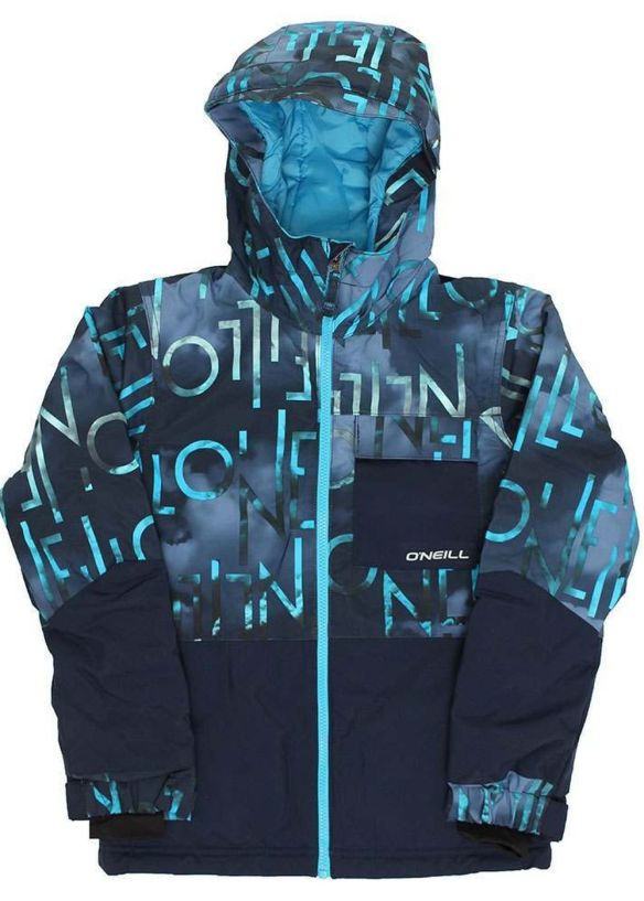 ONEILL BOYS HUBBLE SNOW JACKET Blue AOP