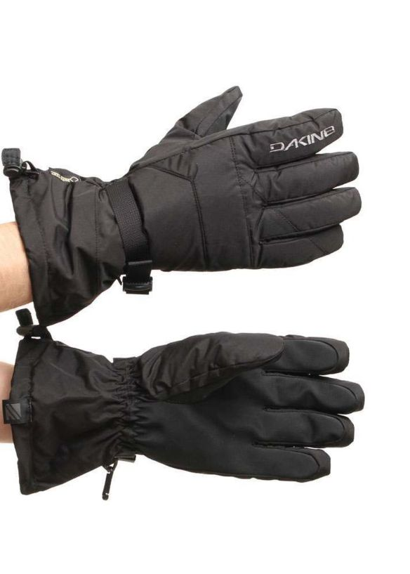 DAKINE FRONTIER SNOW GLOVES Black