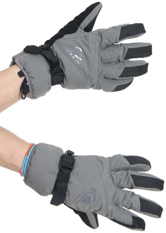 QUIKSILVER SENTENCE SNOW GLOVES Smoke