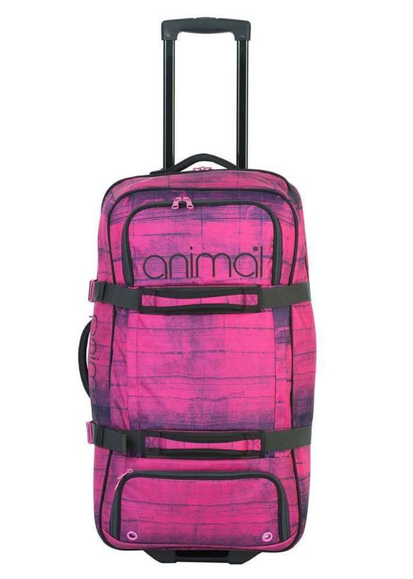 ANIMAL ELLIA WHEELED LUGGAGE 80L Fuchsia
