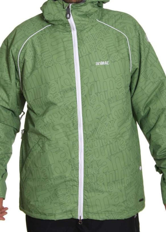 ANIMAL THE OPTIC SNOW JACKET Flourite Green