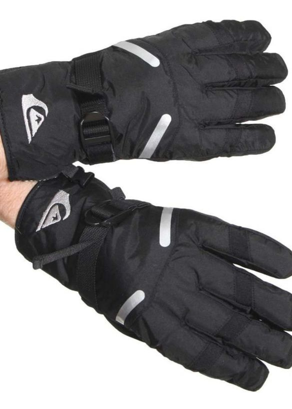QUIKSILVER TRITON SNOW GLOVES Black