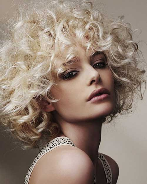 15 curly perms for short hair crazyforus short blonde curly hair perms urmus Choice Image