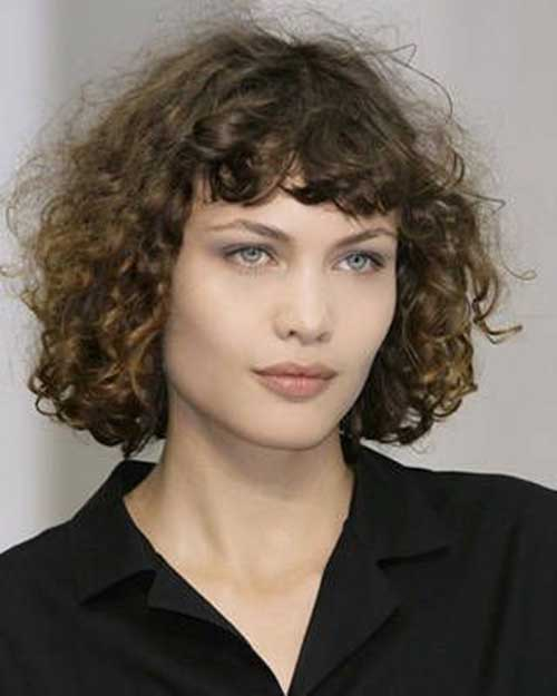 15 curly perms for short hair crazyforus short brown curly hair perms ideas urmus Image collections