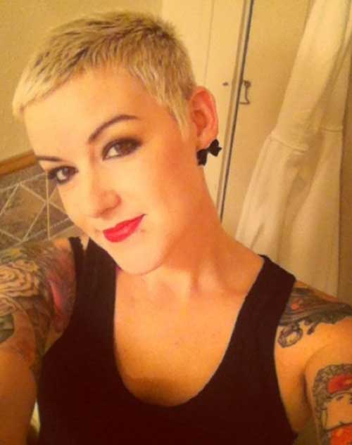 20 Short Cropped Haircuts Crazyforus