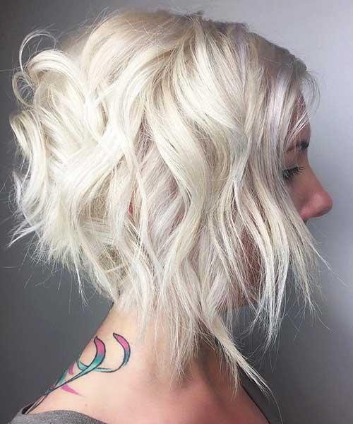 Short Choppy Hairstyle - 22
