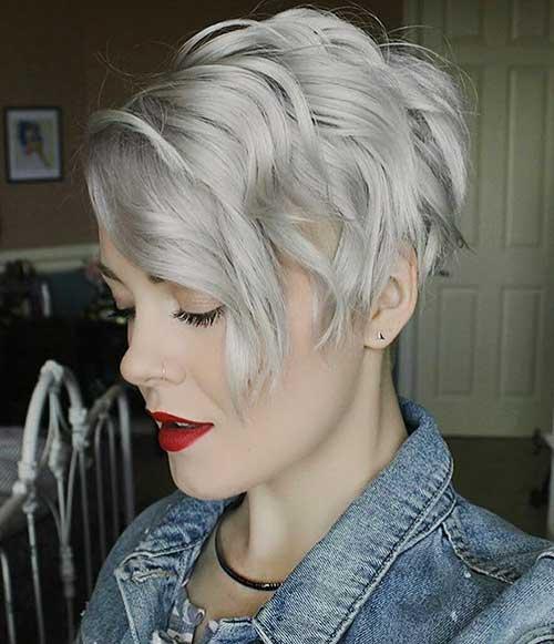 Short Choppy Hairstyles 2017 - 32