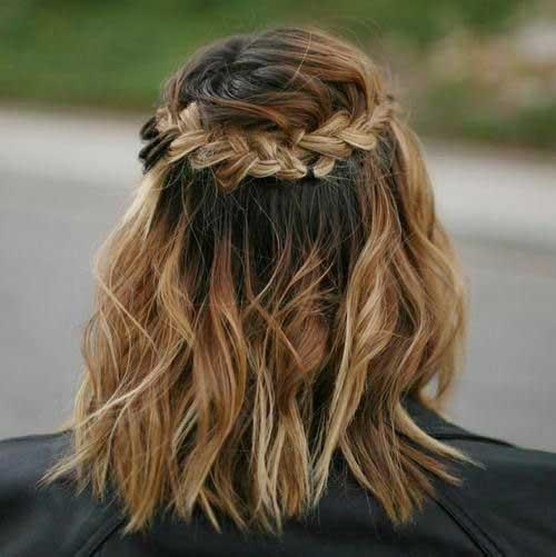 Braided Short Hairstyle