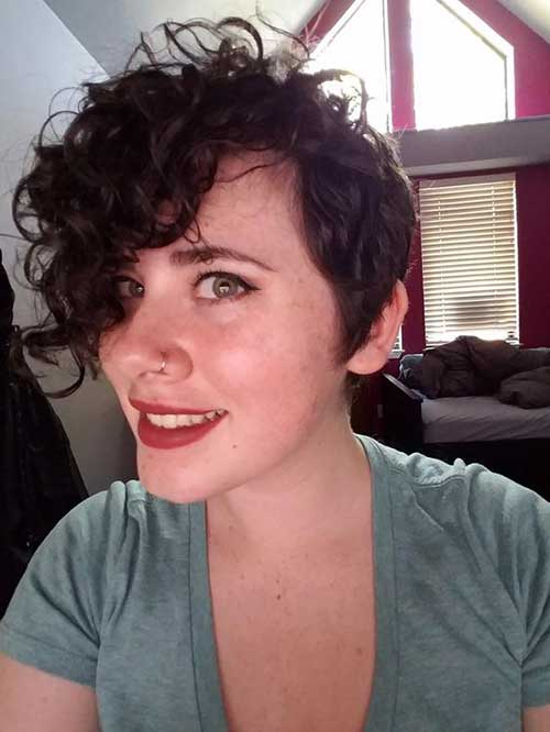 Pixie Cut for Curly Hair