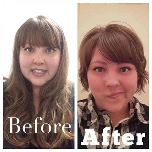 Short Haircuts for Fat Faces-23
