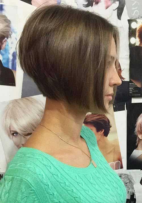 Brunette Short Hair Styles