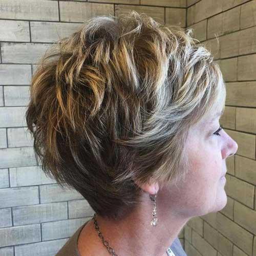Layered Short Hair Cuts