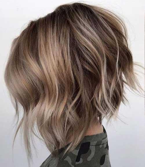 Short Choppy Haircut