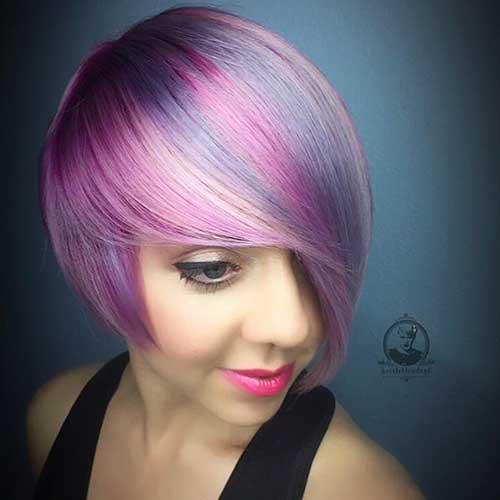 14 more really cool short hairstyles with long bangs crazyforus 14 more really cool short hairstyles with long bangs urmus Choice Image