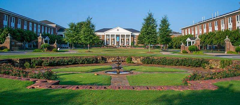 The front circle at Shorter University