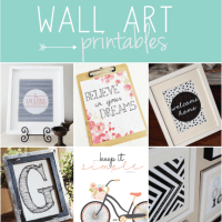 My Favorite Wall Art Printables