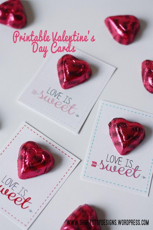 valentines card display