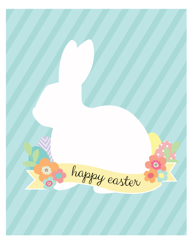 Easter-Bunny-Print-Display