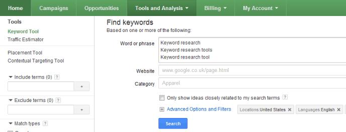 Google Keyword research tool কি  ওয়ার্ড রিসার্চ টুল নতুনদের জন্য