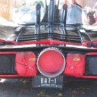The Batmobile - rear