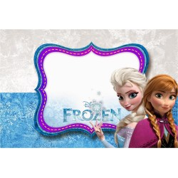 Small Crop Of Frozen Birthday Invitations