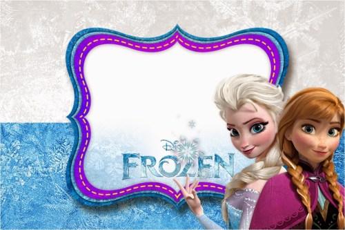 Medium Of Frozen Birthday Invitations