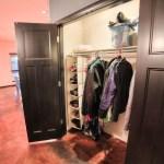Large hall coat closet