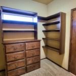 Master closet built-ins