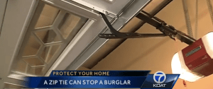 How To Stop a Thief with a Zip-Tie