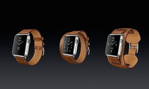 pulseiras apple herme