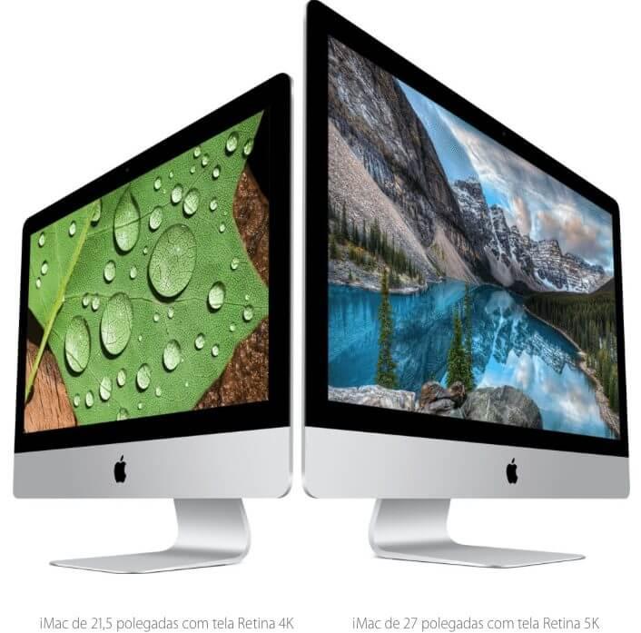 Linha de iMacs UHD é atualizada