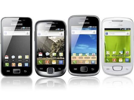 samsung galaxy line s smartphones