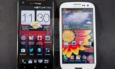 HTC Droid DNA x Samsung Galaxy SIII