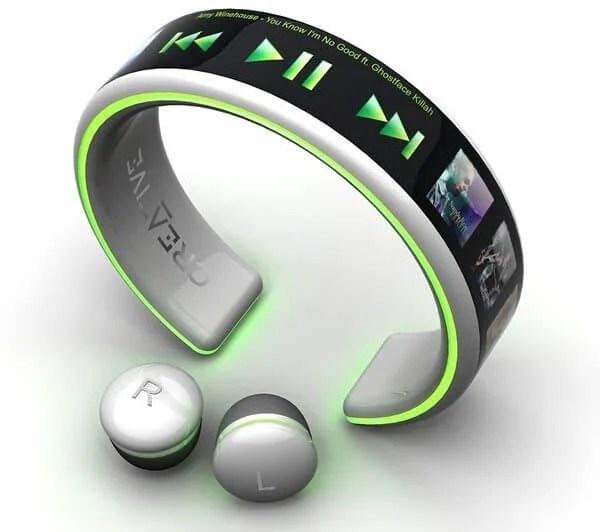 Wrist wear MP3 Player