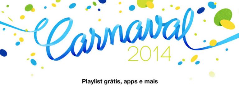 iTunes oferece conteúdo grátis neste carnaval