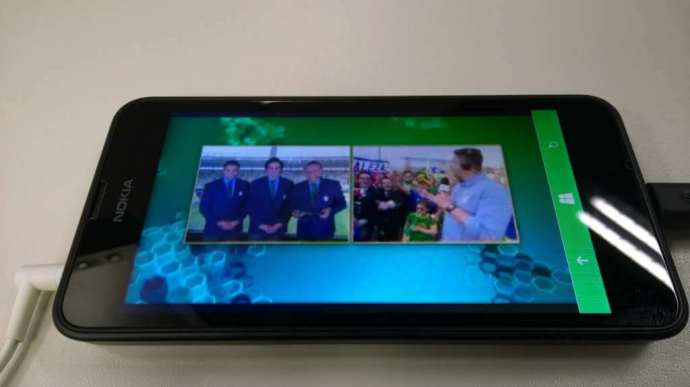 Lumia 630 com TV Digital