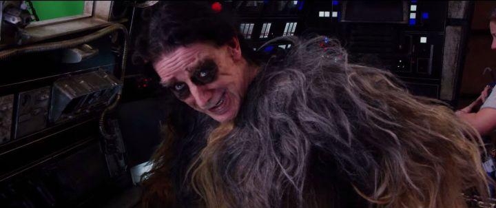 Peter Mayhew, o Chewie
