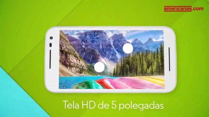 O smartphone terá uma tela de 5 polegadas com resolução HD