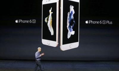 Apple apresenta novos iPhone 6S e 6S Plus, iPad Pro, nova Apple TV e outras novidades