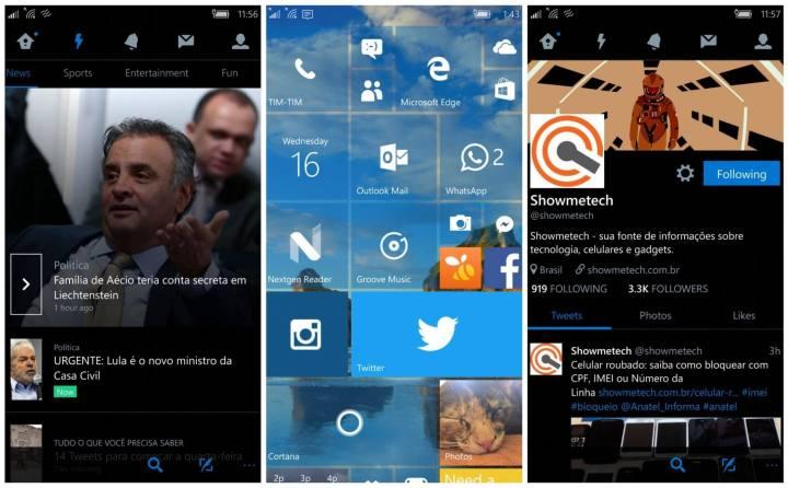 Twitter para Windows 10 Mobile