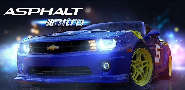 Aspalth Nitro - jogos para celular com pouco espaço de armazenamento