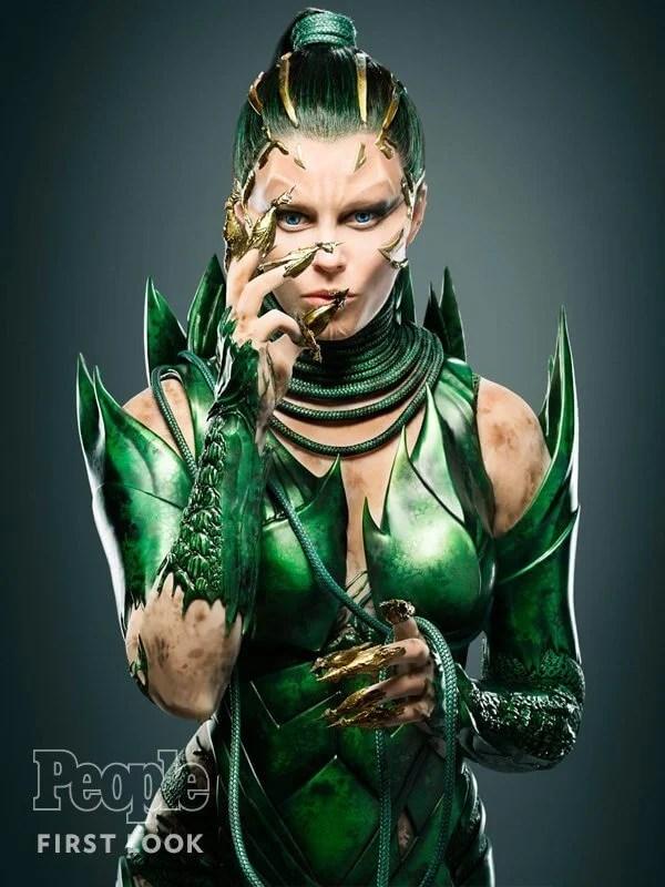 Elizabeth como Rita Repulsa no novo Power Rangers
