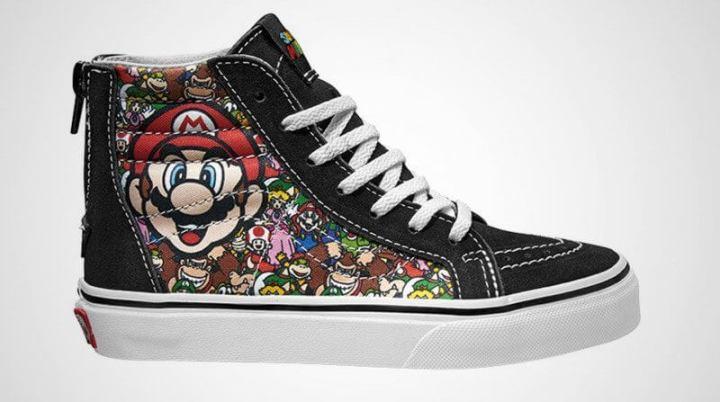 Nintendo lança tênis de Super Mario