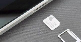 Apple Sim, chip da empresa, serve para descomplicar os laços com as operadoras