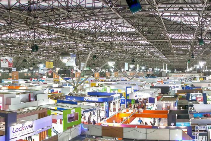 A Eletrolar Show 2016 ocorre no pavilhão de eventos do Transamerica Expo Center