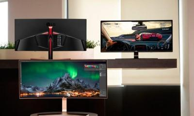 monitor ultrawide da LG é o maior do mundo
