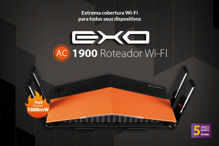 EXO AC1900 é lançado no Brasil