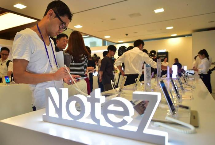 Galaxy Note7 - Sucesso do programa de recall