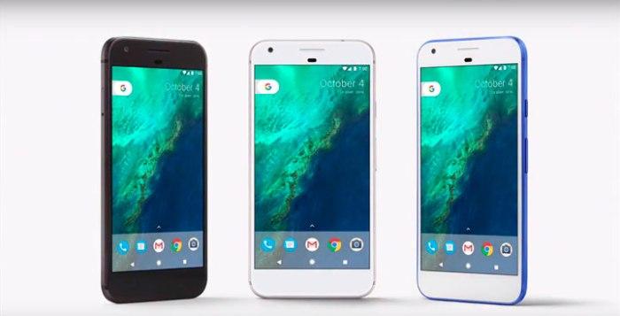 Google Pixel, novo smartphone do Google